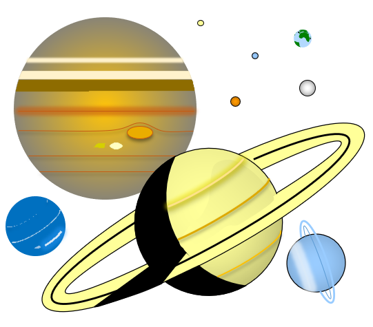 Miles Solar System Data Chart - Pics about space