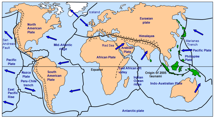 caterpillar shoes tectonic plate boundaries